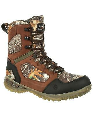 Rocky Men's Broadhead Ex Insulated Waterproof Outdoor Boot Round Toe Camouflage