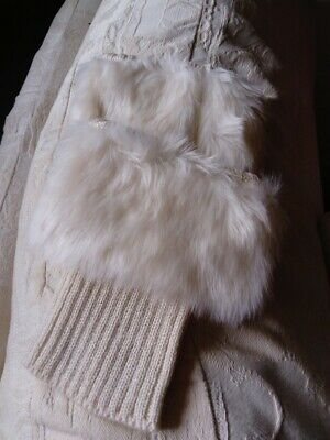Bootcuffs ankle -light beige with fur -winter-fashion-lady-clothing-accessories