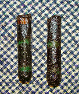 "2~4"" Battery LED Timer Drip Candles Rustic Primitive Country Green"