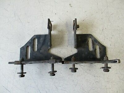 2012 International Prostar Oem Lh Upper Fuel Tank Step Mounting Bracket(Set-Of-2