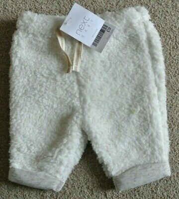 New Next baby Boys/girls warm fluffy Trousers first size last one