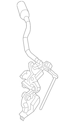Genuine Nissan Shifter Assembly 34101-1PA0A