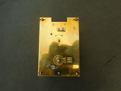 Part Carriage Clock Movement