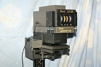 """L@@KDurst L-1200 Laborator 4""""X5"""" Minty enlarger with CLS501 Head EST 500 PS Femo"""