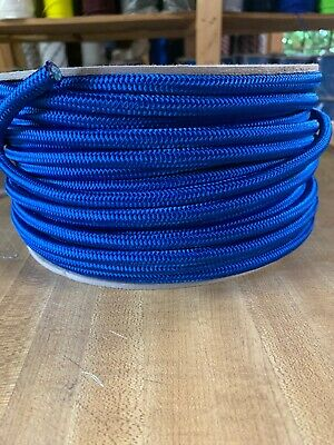 "5/16"" x 175 ft. Stiff MFP Rope. Royal Blue. Made in USA"