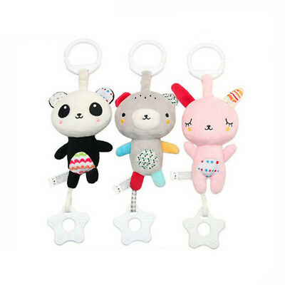 Baby Rattles Stroller Hanging Soft Toy Baby Crib Hanging Cute Animal Doll BL3