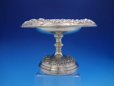 Repousse By S. Kirk & Son Weighted Sterling Silver Compote  #103 (#4119)