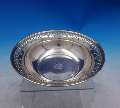 Tiffany and Co Sterling Silver Candy Dish w/ Pierced Border #20675K-1301 (#3936)