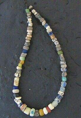 Ancient Glass Mixed Colors Monochrome Beads #17