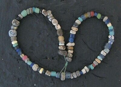 Ancient Glass Mixed Colors Monochrome Beads #19