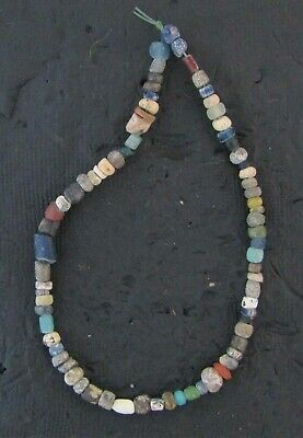 Ancient Glass Mixed Colors Monochrome Beads #20