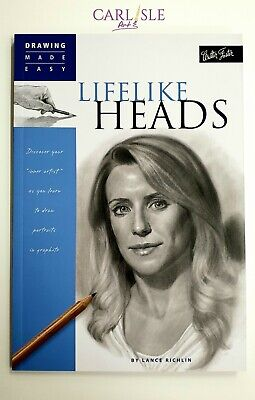 Walter Foster Drawing Made Easy: Lifelike Heads