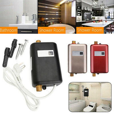 220V Mini Instant Electric Water Heater Under Sink Hot Water Heater for Kitchen