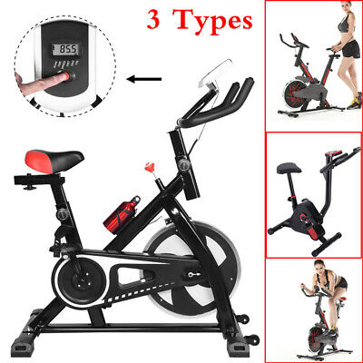 Pro Fitness Stationary Exercise Bike Cardio Indoor Cycling Bicycle Home & Gym