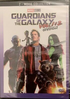 Marvel's: Guardians of the Galaxy Volume 1 and 2 (DVD, Brand New, Free Shipping)