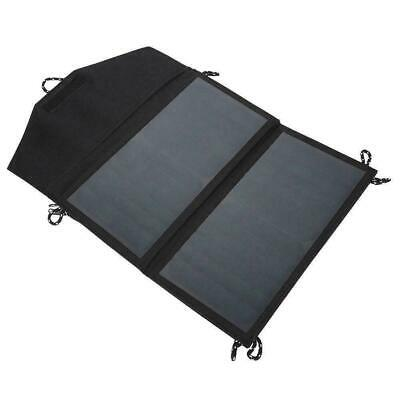 14W 5V Foldable Solar Panel Portable Outdoor Camping Charger USB Battery Po X6T6