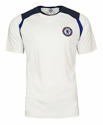 Chelsea FC Football Poly T Shirt Kids 4 5 Years Boys Training Official Gift CT31