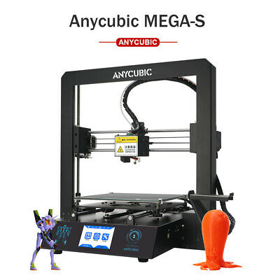 ANYCUBIC Predator Delta 3D Printer UltrabaseAutomatic Level PLA TPU ABS Filament