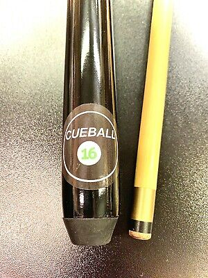 """36"""",48"""" or 57"""" 2-PIECE CUEBALL16 CUE HOME POOL TABLES & 4 SPARE TIPS - GIFT"""