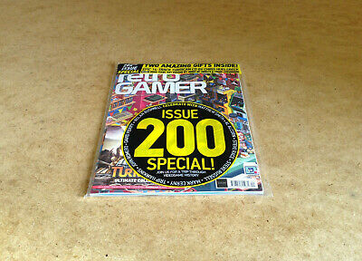 Retro Gamer Issue 200 Special Turrican Cd Pixel Art Poster Videogame History