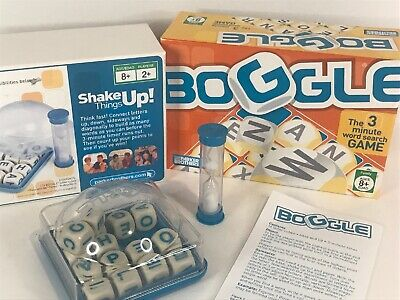 Boggle 3-Minute Word Game 2005 Parker Brothers