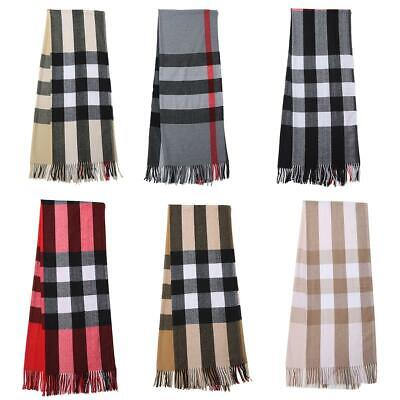 Winter Thick Cashmere Blend High Quality Designer Inspired Scarf Shawl Wrap