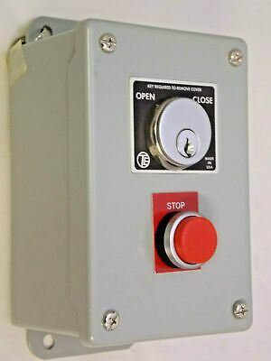 HOFFMAN SKS-2S FLUSH MOUNTED SECURITY SWITCH  With KEYS  **New**