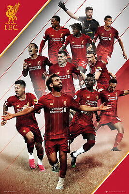 Liverpool FC Players 19/20 Football Maxi Poster Print 61x91.5cm | 24x36 inches