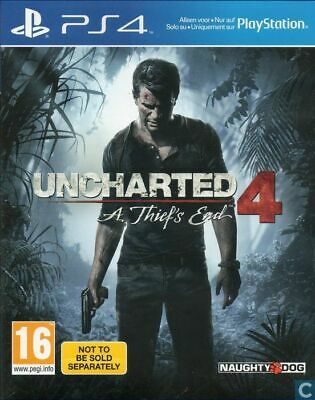 Uncharted 4: A Thief's End PS4 new and Sealed
