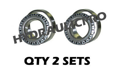 Qty (2) Replacement Tapered Roller Bearing LM67048 LM67010 Wheel Bearing + Race