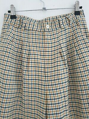 Vintage 80s Chequered Trousers