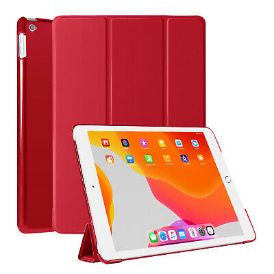 For iPad 10.2 inch 2019 7th Generation Magnetic Smart Cover Slim Shell Hard Case