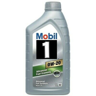 1 Litre Mobil 1 0w-20 Fully Synthetic Motor Oil ESP Advanced Fuel Economy 0w20