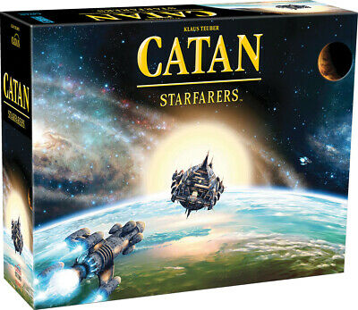 Catan Starfarers 2nd Edition Board Game Factory Sealed Brand New Stand Alone