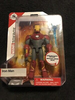 Marvel Avengers Disney Store Exclusive Toy Box Toybox Retired Iron Man
