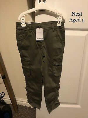 Next Girls Trousers, Aged 5