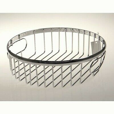 Tablet, Fruit Bowl Stick Metal round Silver Ø 27cm Casablanca Wa