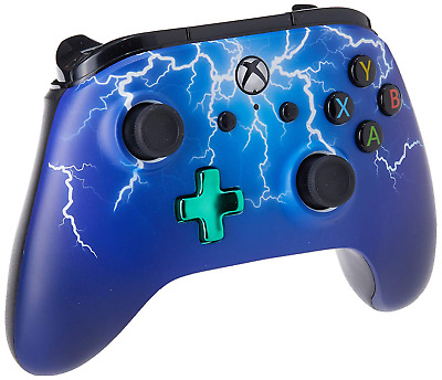 Xbox One Enhanced Wired Controller/Gamepad - Spider Lightning Xbox One