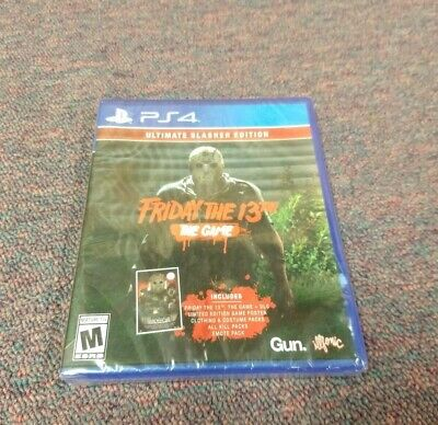 Friday The 13th The Game Ultimate Slasher Edition (PlayStation 4, 2018) PS4 New