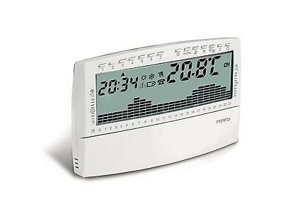 Perry Electric 1CRCR018BS Thermostat Programmable Mur Up&down Agenda Blanc la Ba