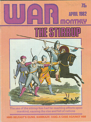 WAR MONTHLY Magazine April 1982 - The Stirrup