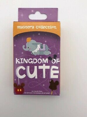 Disney Parks Kingdom of Cute Series 1 Pin Mystery Box Pack 2 Pins Sealed New