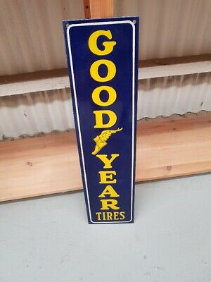 Goodyear Tires New Quality Porcelain Enamel Sign