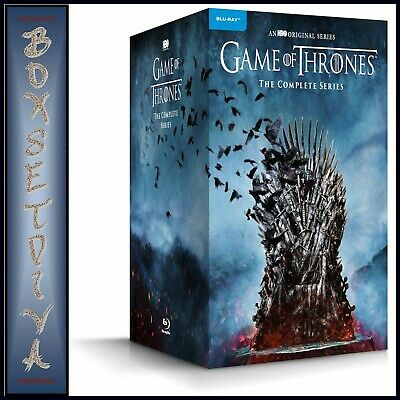 Game Of Thrones Complete Series Seasons 1 2 3 4 5 6 7 8  New Bluray Region Free