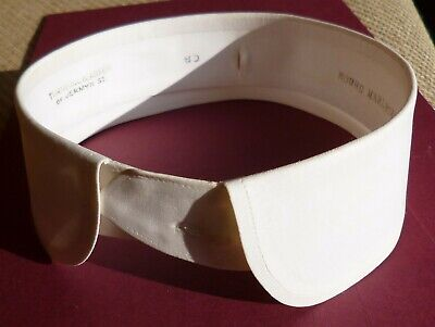 4 Men's Starched Collars Eton Style and Cutaway 4 for £10