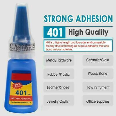 Mighty Instant Glue 401 Multi-Purpose Super Glue Instant Adhesive DIY 1PC Hot