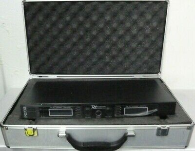 Power Dynamics Pd732 Dual Microphone System Hand Held Headset Pro Audio