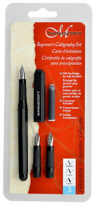 Manuscript Dodec Calligraphy Pen Set - Beginner 3 Nibs