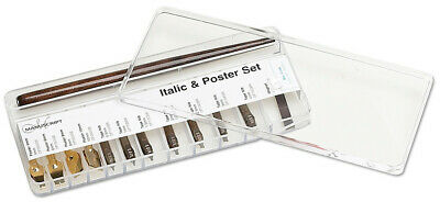 Manuscript Dip Pen Calligraphy Set - Italic and Poster