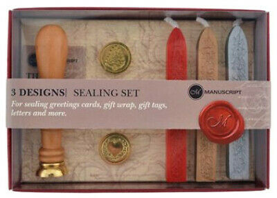 Manuscript Sealing Set - LHDS 3 Coin Set